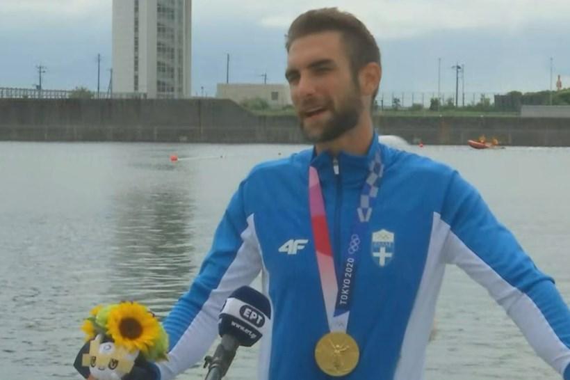 Ντούσκος: «Πίστευα πως ήταν... άπιαστο το μετάλλιο, αλλά μέσα στην κούρσα το πίστεψα» (vid)