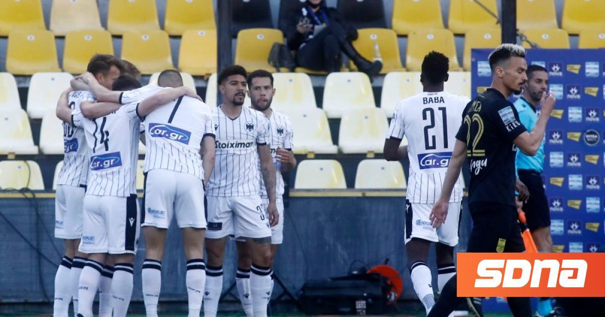 The special playoff score: PAOK wins, Panathinaikos loses